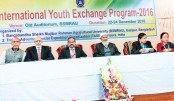 'Int'l Youth Exchange Programme' begins at BSMRAU
