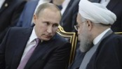 Iran's President Hassan Rouhani and his Russian counterpart Vladimir Putin welcome Aleppo 'victory'