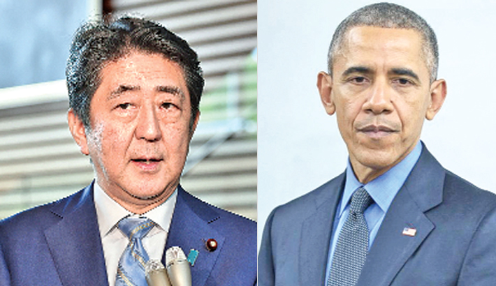 After Hiroshima, Abe and Obama to pay respects at Pearl Harbor