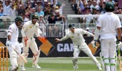 Australia v Pakistan: Azam dismissal offsets morning of steady accumulation