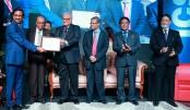 IDLC honoured with Gold at ICSB National Award 2015