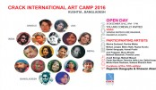 Crack art camp kicks off in Kushtia