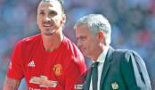 Mourinho hints Ibrahimovic will  end his career at Man Utd