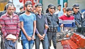 Satellite phones seized in Ctg, 4 held
