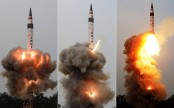 India test-fires Agni-5 missile capable of striking targets 5000 km away