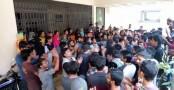 Sylhet Engineering College students confine teachers, registrar
