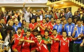 Bangladesh emerge champions in Bangabandhu International volleyball beating Kyrgyzstan