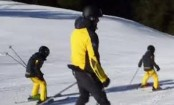 Hrithik Roshan's skiing lessons to sons