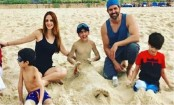 Hrithik Roshan, Sussanne Khan holiday with sons in Dubai