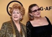 Debbie Reynolds dies, aged 84, one day after daughter Carrie Fisher
