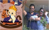 Saif's new WhatsApp image reflects his love to baby son Taimur