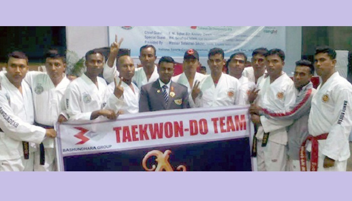 BG team clinches 6 gold in Bangladesh Cup Taekwondo Competition