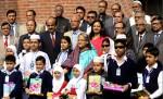PM inaugurates free textbook distribution programme