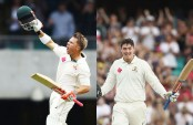 Devastating Warner, Renshaw power Australia to 365-3