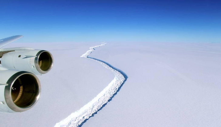 A piece of ice the size of Chittagong is about to break off Antarctica