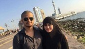 Star couple Shokh-Niloy performs Umrah in Mecca