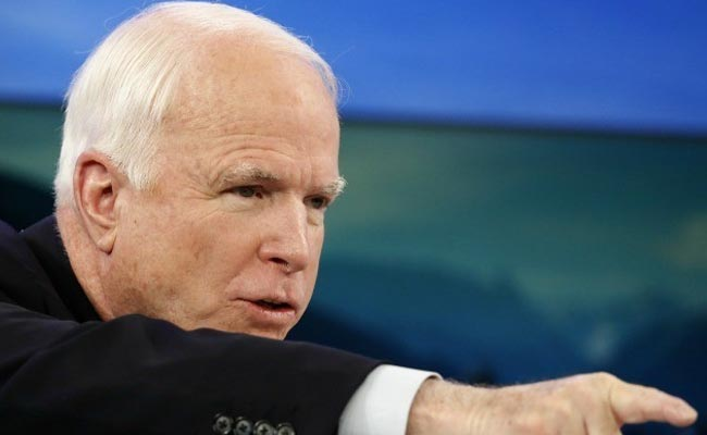 Vladimir Putin foe John McCain could emerge as bulwark against Donald Trump