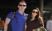 Preity Zinta returns to Mumbai with hubby