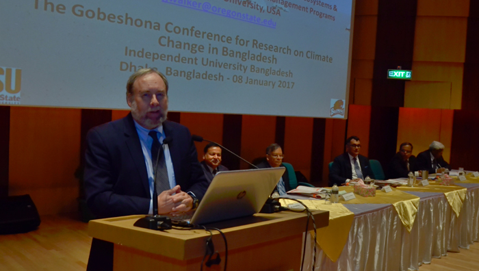 Third international annual conference on climate change begins at IUB