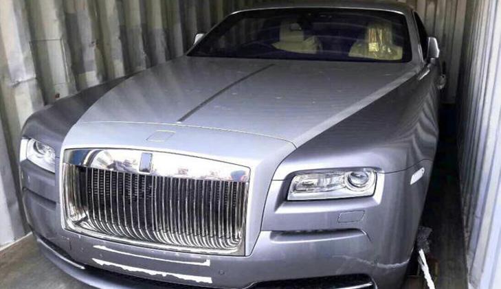 Expelled N Korean diplomat's Rolls Royce seized
