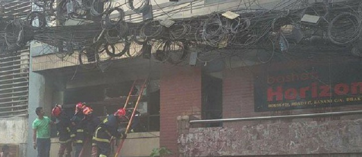 Fire of Banani 20-storey building tamed down