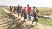 United Nations says 22,000 Rohingya fled Myanmar to Bangladesh in one week