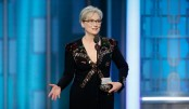 Meryl Streep moves Hollywood at Golden Globes 2017
