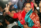 Selina Hayat Ivy takes office as Narayanganj mayor for second term