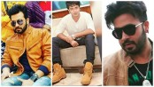 Seven different looks of Shakib Khan