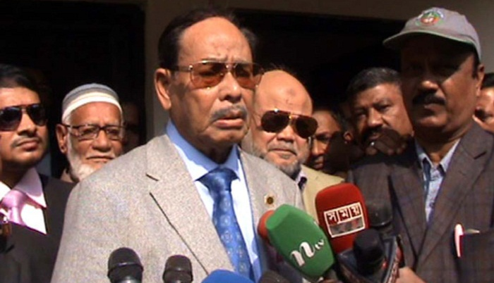 Ershad waiting to see Khaleda in jail