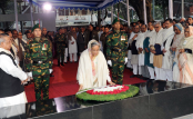 Prime Minister Sheikh Hasina pays homage to Bangabandhu on Homecoming Day
