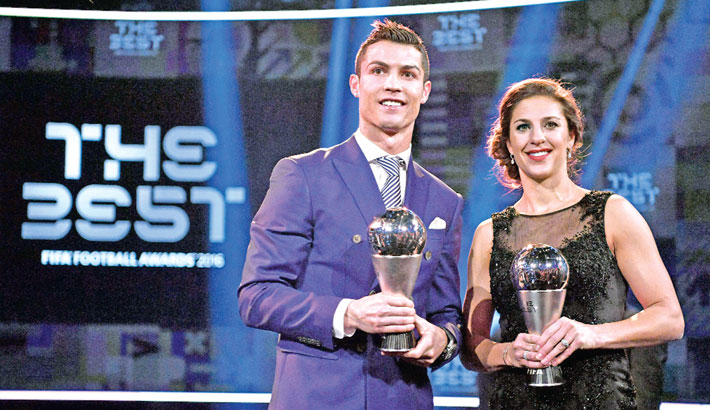 Ronaldo, Ranieri scoop top FIFA awards
