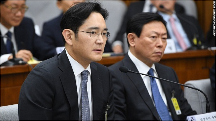 Samsung heir suspect in South Korea corruption scandal