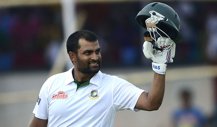 Tamim declared fit to play in first Test