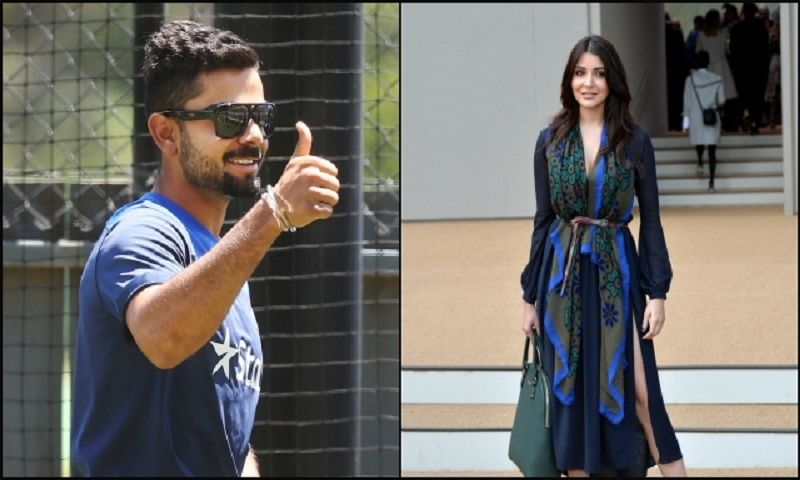 Virat Kohli and Anushka Sharma again spotted together