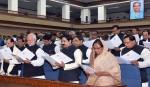 Chairmen of 59 district council take oath
