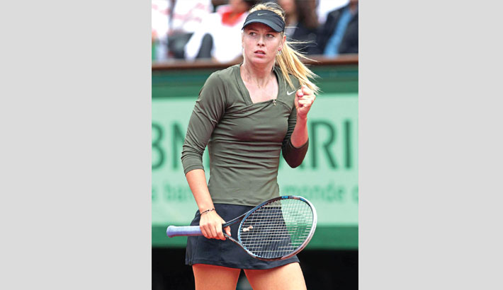 Sharapova to return after ban