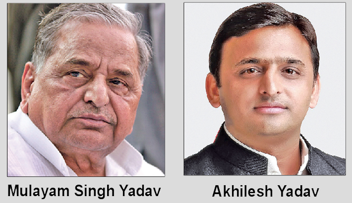 Mulayam advises Akhilesh to keep away from party dispute