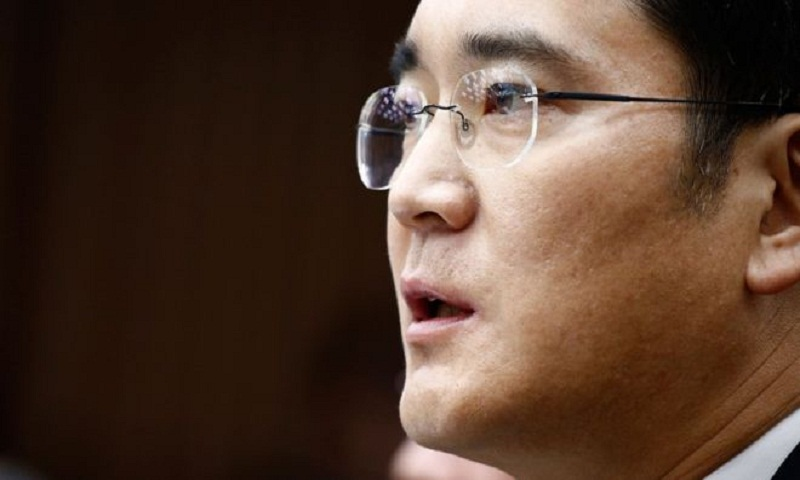 Samsung boss questioned over corruption scandal in S Korea