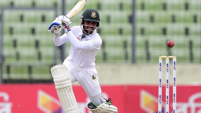 Bangladesh 154-3 on day 1 of 1st test vs. New Zealand