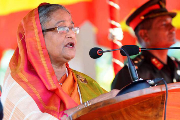 Take steps against militancy, Prime Minister Sheikh Hasina asks Coast Guard