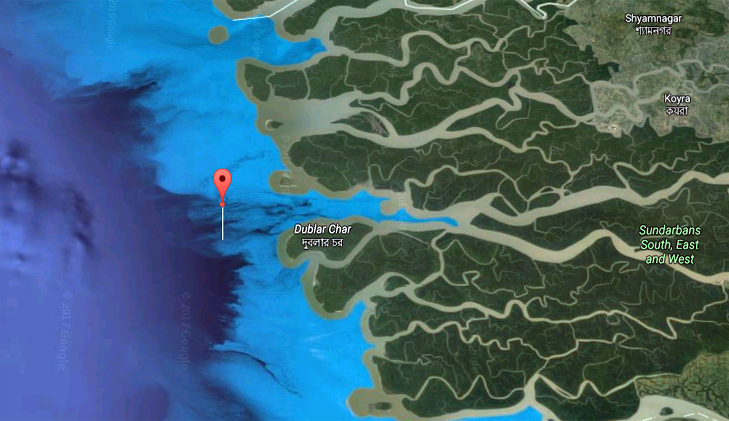 Ship carrying 1000 tonnes of coal sank in Sundarbans' Passur river mouth