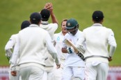 Bangladesh gain 122-run lead after bundling New Zealand out for 539 at stumps on Day 4