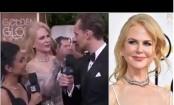 Nicole Kidman's 'bizarre behaviour' at the Golden Globes revealed