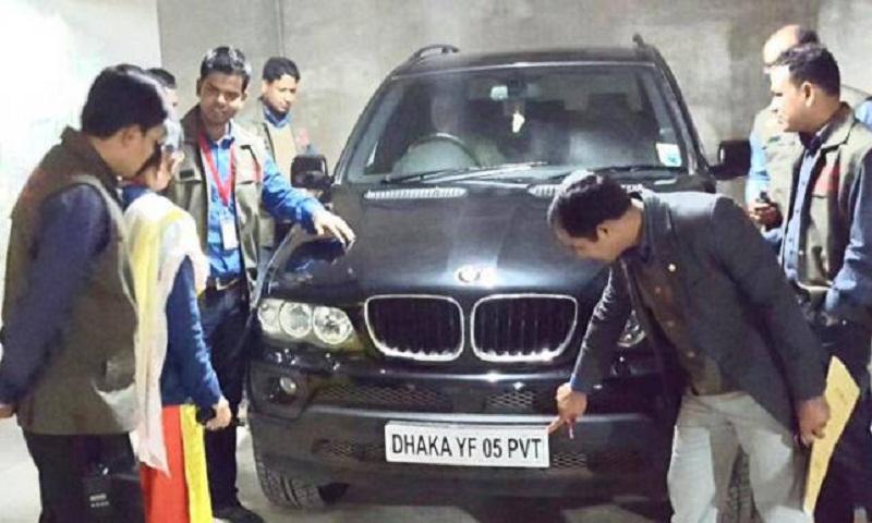 BMW X5 SUV worth Tk 5cr seized from Banani