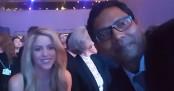 Palak clicks selfie with Shakira