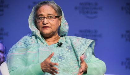 Rampal is an 'unnecessary issue', Prime Minister Hasina says at Davos