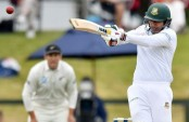 Soumya clinches his maiden Test fifty
