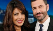 Priyanka on Jimmy Kimmel show after winning People's Choice Award