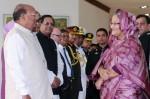 Prime Minister Sheikh Hasina returns home from Switzerland